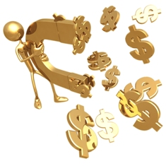 bigstockphoto_currency_magnet_404575 Разработка идеи – возможно ли заработать легко и быстро