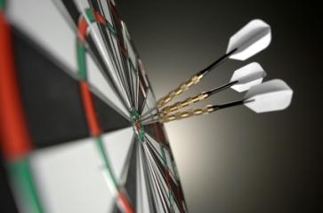 dartboard Основные свойства и качества лидера в бизнесе: Целеустремленность