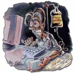 overworked Эксперимент – 12 часовой рабочий день манимейкера в интернете
