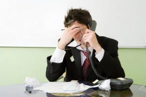 frustrating-300x199 МЛМ бизнес: У меня зазвонил телефон …