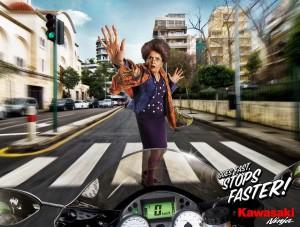 Ad-Kawasaki-Grandma-Lebanon-300x227 Графика в печатной рекламе: за или против?